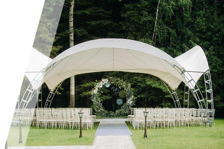 Hochzeit - Zeltverleih - Zeltmieten